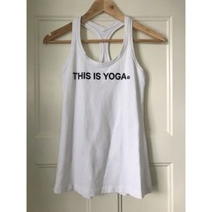 Lululemon Yoga Tank